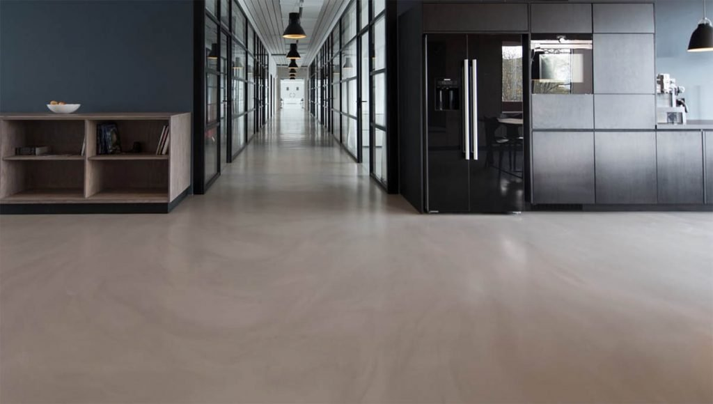 epoxy concrete floor sealing